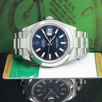 Rolex Datejust II Stahl 41mm Blau Keine Ziffern Deutschland, hamburg