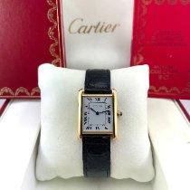 Cartier Tank (submodel) Oro giallo 29.5mm Bianco Romani Italia