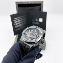 Hublot Big Bang Sang Bleu gebraucht 45mm Schwarz Kautschuk