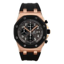 Audemars Piguet Royal Oak Offshore Chronograph Pозовое золото 42mm Cерый Aрабские