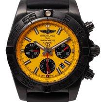 Breitling Chronomat 44 Blacksteel Steel Yellow