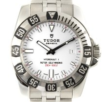 Tudor Hydronaut Steel 40mm White