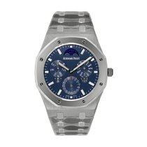 Audemars Piguet Royal Oak Титан 41mm Синий Без цифр