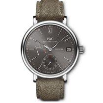 IWC Portofino Hand-Wound Steel 45mm Grey No numerals United States of America, New York, New York