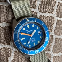 Squale Steel 42mm Automatic 1521BLUEBL.PC pre-owned United States of America, South Carolina, Simpsonville
