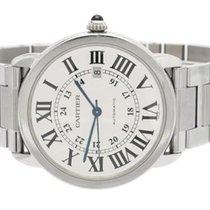 Cartier Ronde Solo de Cartier Steel 42mm White Roman numerals