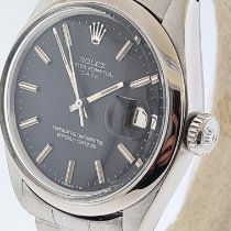 Rolex Oyster Perpetual Date Acero 34mm Negro Sin cifras Argentina, buenos aires