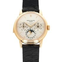 Patek Philippe Minute Repeater Perpetual Calendar Yellow gold 36mm Champagne United States of America, California, Beverly Hills
