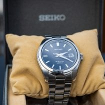 Seiko Spirit Steel 38mm Black No numerals United States of America, Maryland, Baltimore
