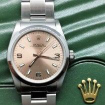 Rolex Oyster Perpetual 31 Zeljezo 31mm Ružičasto Arapski brojevi