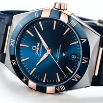 Omega Constellation new 2021 Automatic Watch with original box and original papers 131.23.41.21.03.001