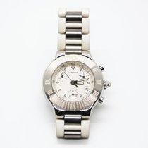 Cartier 21 Chronoscaph Steel 38mm White No numerals United States of America, Florida, Miami