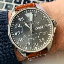 Hamilton Khaki Pilot pre-owned 46mm Grey Date Leather