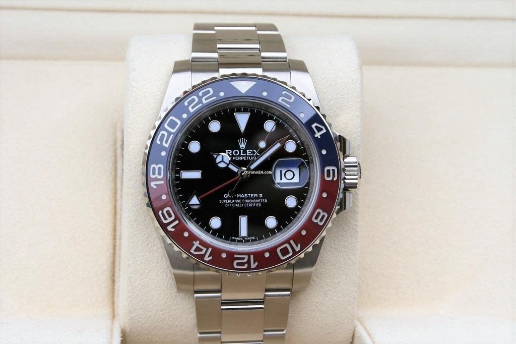 Rolex GMT-Master II 116719BLRO nuevo