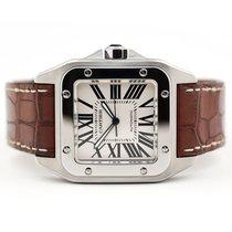 Cartier Santos 100 Steel 41mm White Roman numerals United States of America, Florida, Aventura