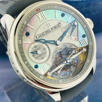 Greubel Forsey pre-owned Manual winding Silver
