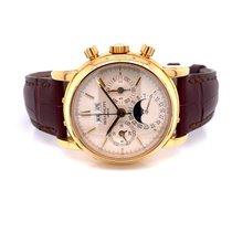 Patek Philippe Perpetual Calendar Chronograph new 2003 Manual winding Chronograph Watch with original box and original papers 3970ER