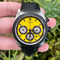 Tudor Fastrider Chrono Steel 42mm Yellow No numerals United States of America, California, Los Angeles
