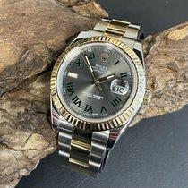 Rolex Datejust II Acero y oro 41mm Gris