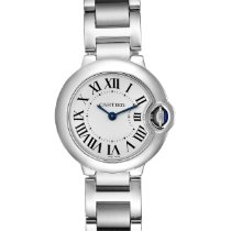 Cartier Ballon Bleu 28mm Steel 29mm Silver Roman numerals United States of America, Georgia, Atlanta
