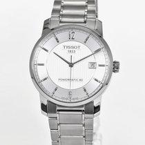 Tissot Titanium Automatic Titan 40mm Silber Deutschland, Teuschnitz
