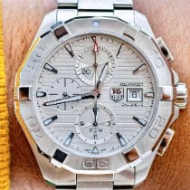 TAG Heuer Aquaracer 300M Steel 43mm Silver No numerals United States of America, Texas, Plano