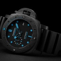 Panerai Luminor GMT Automatic Carbon 47mm Black No numerals