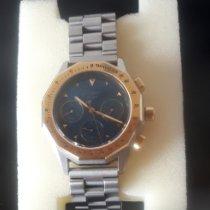 Glashütte Original Senator Chronograph gebraucht 41mm Blau Chronograph Stahl