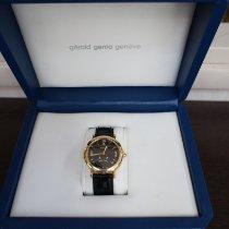 Gérald Genta new Automatic 36mm Yellow gold Sapphire crystal