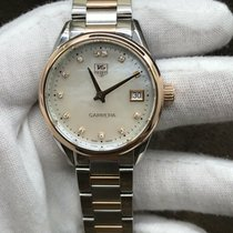 TAG Heuer Carrera Lady pre-owned 32mm Date Gold/Steel