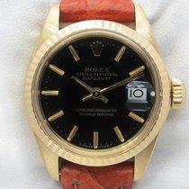Rolex Oyster Perpetual Lady Date Oro giallo 26mm Nero Senza numeri Italia, Pieve Di Cento BOLOGNA