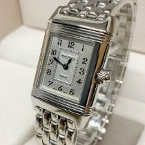 Jaeger-LeCoultre Reverso Duetto Steel 21mm Mother of pearl Arabic numerals