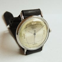 Poljot Steel 35mm Manual winding pre-owned