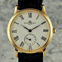 Baume & Mercier pre-owned Manual winding 33mm White Sapphire crystal