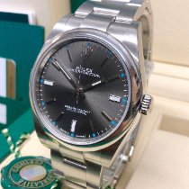 Rolex Oyster Perpetual 39 Steel 39mm Grey No numerals United Kingdom, Wilmslow