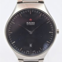 Rado True Thinline Ceramic 40mm Blue No numerals