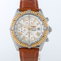 Breitling Crosswind Racing D13355 Very good Gold/Steel 43mm Automatic