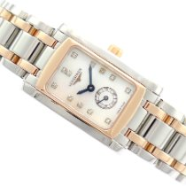 Longines DolceVita pre-owned 19.5mm Mother of pearl Steel