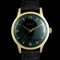 Ulysse Nardin Yellow gold Black Arabic numerals 35mm pre-owned
