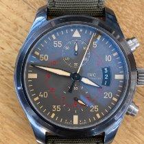 IWC Pilot Chronograph Top Gun Miramar Cerámica 46mm Gris Arábigos