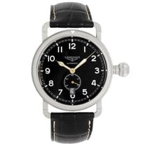 Longines Avigation Steel 41mm Black