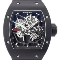 Richard Mille Aluminum Manual winding Transparent 40mm pre-owned RM 035