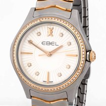 Ebel Wave pre-owned Champagne Gold/Steel