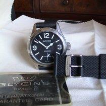 Glycine Incursore Steel 44mm Black Arabic numerals