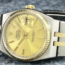 Rolex Datejust Oysterquartz Ocel 36mm Zlatá Bez čísel