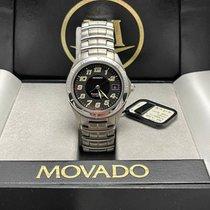 Movado Kingmatic Acero 37mm Negro Arábigos