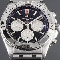Breitling Chronomat Stål 42mm Svart Ingen tall