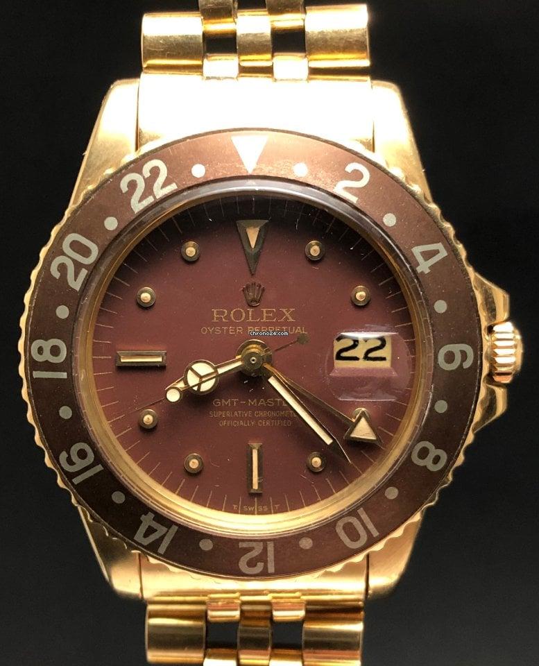 Rolex GMT-Master 1675 1972 gebraucht