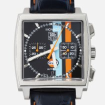 TAG Heuer CAW211A Steel 2007 Monaco Calibre 11 39mm pre-owned
