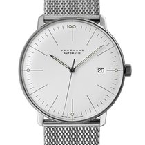 Junghans 027/4002.46 Steel max bill Automatic 38mm new